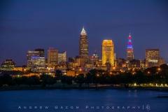 Cleveland Skyline - Cleveland Indians Theme