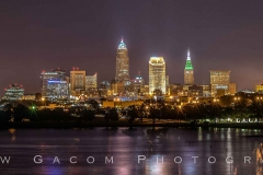 Cleveland Skyline Panoramic