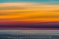 Blurred Sunset