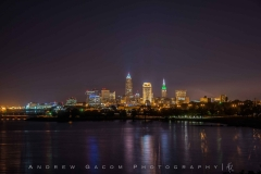 Cleveland_Skyline_Green_White